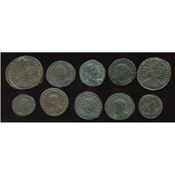 Roman Imperial - Constantinian Dynasty Group. Lot of 6