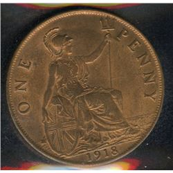 Great Britain Penny, 1918