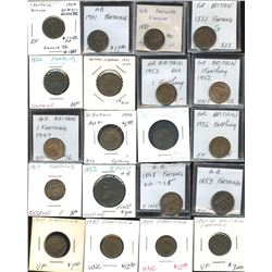 Huge Lot of Great Britain with Catalogue Value of $1458.
