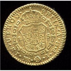 Colombia Escudo Gold Coin, 1820