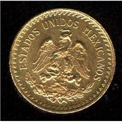 Mexico ESTADOS UNIDOS MEXICANOS 2-1/2 Pesos, 1945