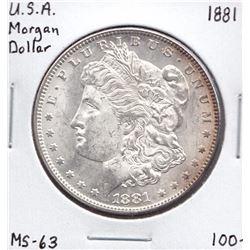 USA Morgan Dollar, 1881