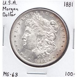 USA Morgan Dollar, 1881