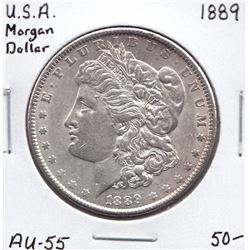 USA Morgan Dollar, 1889
