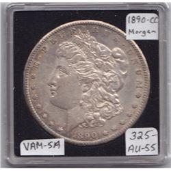 USA Morgan Dollar, 1890-CC