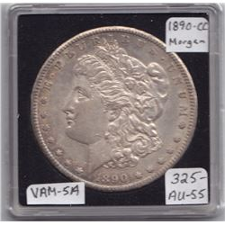 USA Morgan Dollar, 1890-CC