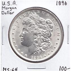 USA Morgan Dollar, 1896