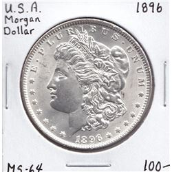 USA Morgan Dollar, 1896