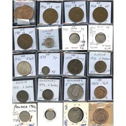 Large Lot of World Coins