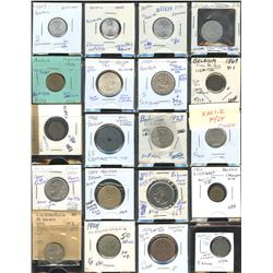 Binder Full of World Coins