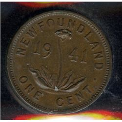 1941c Newfoundland One Cent