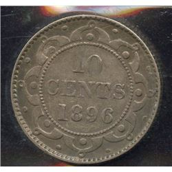 1896 Newfoundland Ten Cents