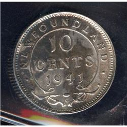 1941c Newfoundland Ten Cents
