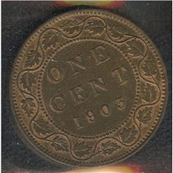 1903 & 1904 One Cent - Lot of 2 ICCS Graded Coins