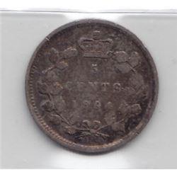 1894 Five Cents