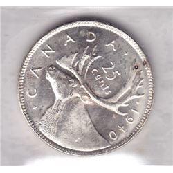 1940 Twenty-Five Cents