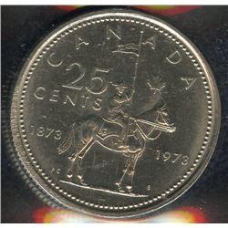 1973 Twenty-Five Cents - Large Bust