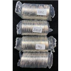 Original Toonie Mint Rolls - Lot of 4
