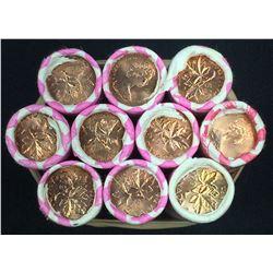 Canada 1 Cent Mint Roll lot