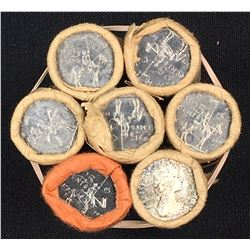 Canada 25 Cent Mint Roll lot