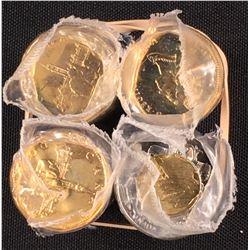 Canada $1 Loonie & $2 Toonie Roll Lot