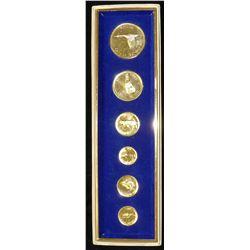 1967 Royal Canadian Mint Gold Plated Mint Set