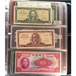 Grandpa's World Banknote Collection