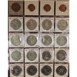 Grandpa's Token, Medal & Trade Dollar Collection