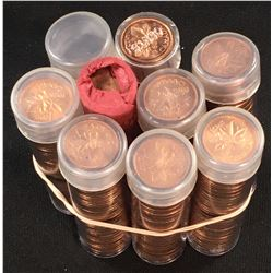 Canada 1 Cent Mint Roll lot
