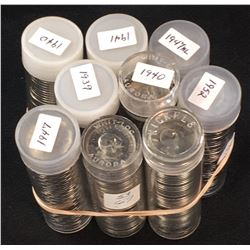 Canada 5 Cent Mint Roll lot