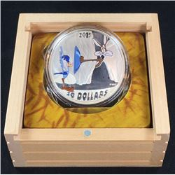 2015 - $30 Canada Looney Tunes  Classic Scenes 2oz Fast and Furry-ous (#2) (NO TAX)