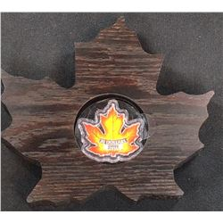 2016 - $20 Canada Canada's Colourful Maple (Leaf Maple Leaf Shape ) (TAX Exempt)