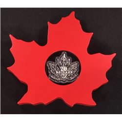 2015 - $20 Canada The Canadian Maple Leaf (Maple Leaf Shape) (NO TAX)