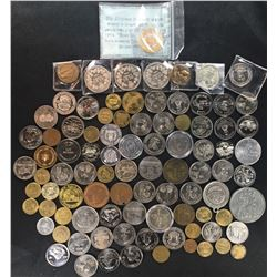 Treasure Chest, Coins, Tokens, Trade Dollars