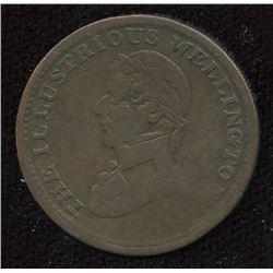 Br. 981 Wellington token.