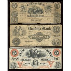 Confederate Banknote - Lot of 3