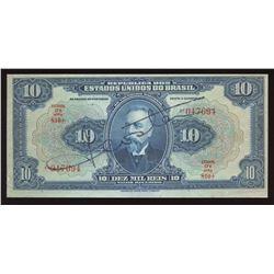 Brazil, 10 Mil Reis, 1925