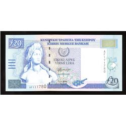 Cyprus 20 Pounds, 2004
