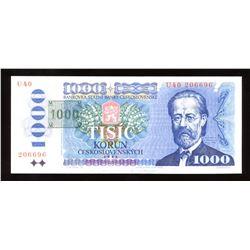 Czechoslovakia, 1000 Korun, 1985