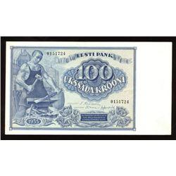 Estonia 100 Krooni, 1935