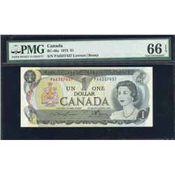 Bank of Canada $1, 1973