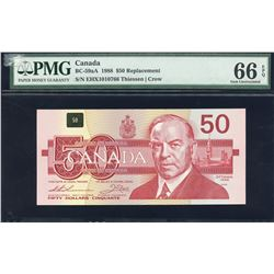 Bank of Canada $50, 1988 Replacement Note