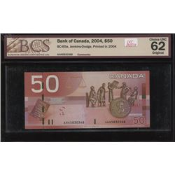 Bank of Canada $50, 2004