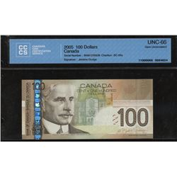 Bank of Canada $100, 2004 (2005)