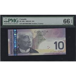 Bank of Canada $10, 2008