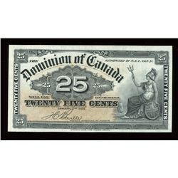 Dominion of Canada Twenty-Five Cent, 1900