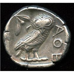 ATTICA, Athens. 449-404 BC. AR Tetradrachm