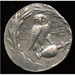 ATTICA, Athens. ca. 168/5-50 BC. AR New Style Tetradrachm