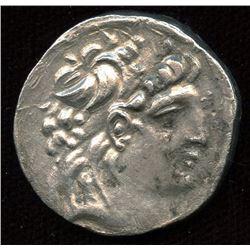 SELEUKID EMPIRE. Antiochos VII Euergetes (Sidetes). 138-129 BC. AR Tetradrachm