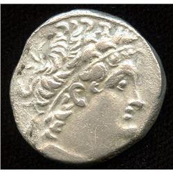 PTOLEMAIC KINGS of EGYPT. Cleopatra III & Ptolemy IX Soter II (Lathyros). 117/6-108/7 BC. AR Tetradr
